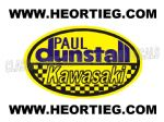Paul Dunstall Kawasaki Tank and Fairing Transfer Decal DDUN7-8
